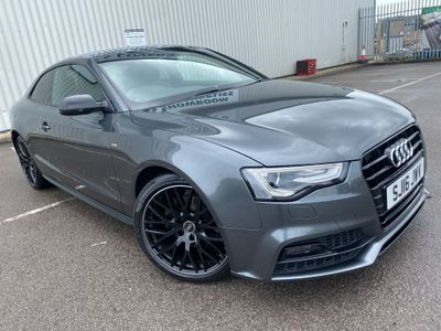Audi A5 Coupe 2.0 TDI Black Edition Plus Multitronic (s/s) 2dr