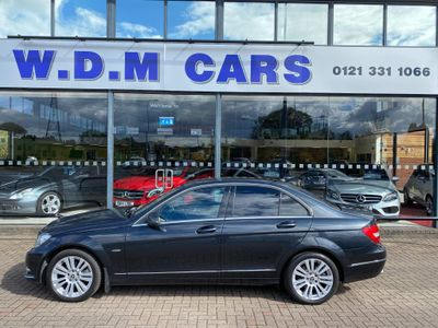 Mercedes-Benz C Class Saloon 2.1 C250 CDI BlueEFFICIENCY Elegance 7G-Tronic 4dr