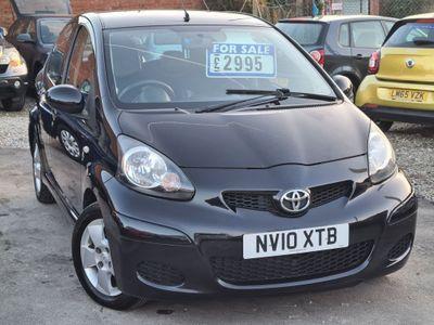 Toyota AYGO Hatchback 1.0 Black 5dr