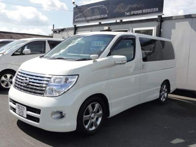 Nissan Elgrand MPV HIGHWAY STAR SUNROOFS SUPER FRESH IMPORT