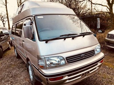 Toyota HIACE HIGH TOP 4 BERTH AUTO RUST FREE Unlisted FRESH IMPORT LOW MILES 72K