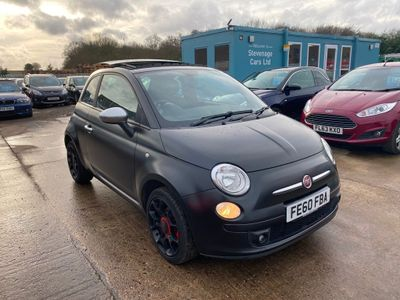 Fiat 500 Hatchback 1.4 16v Matt Black 3dr