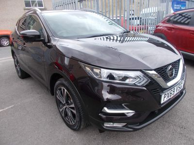 Nissan Qashqai SUV 1.7 dCi N-Connecta (s/s) 5dr