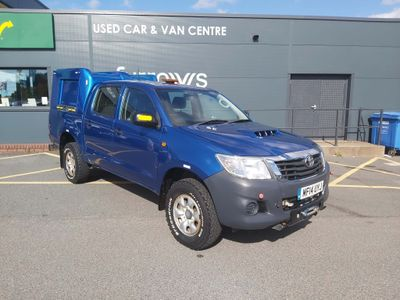 Toyota Hilux Pickup ACTIVE D/CAB **A/C** 4X4 VERY LOW MILES