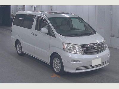 Toyota Alphard MPV HEATED SEATS TWIN SUNROOF ELECTRIC DOORS