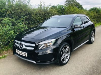 Mercedes-Benz GLA Class SUV 2.1 GLA200 AMG Line (Executive) 7G-DCT (s/s) 5dr