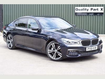 BMW 7 Series Saloon 3.0 730d M Sport Auto xDrive (s/s) 4dr