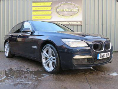 BMW 7 Series Saloon 3.0 730d M Sport 4dr