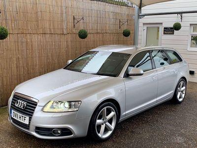 Audi A6 Avant Estate 2.7 TDI V6 S line Avant CVT 5dr