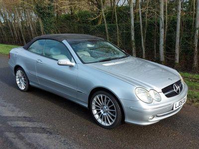 Mercedes-Benz CLK Convertible 1.8 CLK200 Kompressor Elegance Cabriolet 2dr