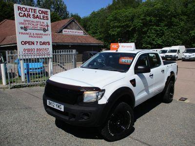 Ford Ranger Pickup 2.2 TDCi XL Double Cab Pickup 4x4 4dr (EU5)