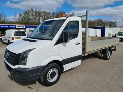 Volkswagen Crafter Dropside 2.0 TDI BlueMotion Tech (EU6) CR35 Dropside Truck 2dr (EU6, LWB)