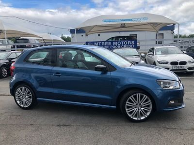 Volkswagen Polo Hatchback 1.4 TSI BlueMotion Tech ACT BlueGT (s/s) 3dr