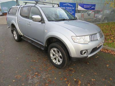 Mitsubishi L200 Pickup 2.5 DI-D CR Warrior LB Double Cab Pickup 4WD 4dr (EU5, Leather)
