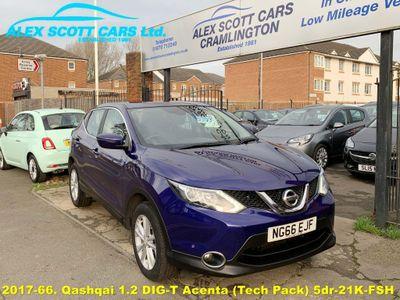 Nissan Qashqai SUV 1.2 DIG-T Acenta (Tech Pack) 5dr