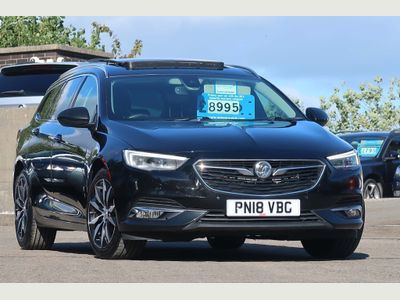 Vauxhall Insignia Estate 2.0 Turbo D BlueInjection Elite Nav Exclusive Black Sports Tourer (s/s) 5dr