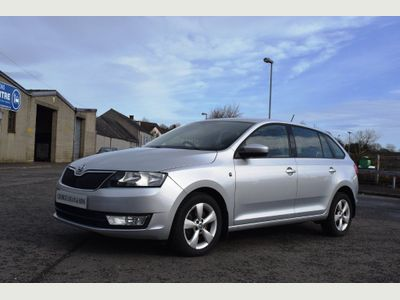 SKODA Rapid Spaceback Hatchback 1.6 TDI GreenTech CR SE Spaceback 5dr