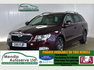 SKODA Superb Estate 1.6 TDI Greenline CR Elegance 5dr