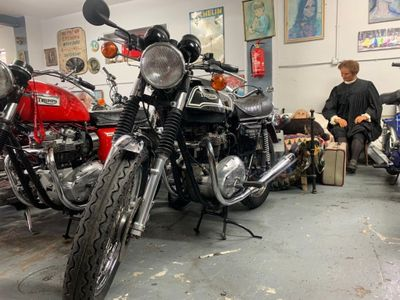 Triumph Bonneville Unlisted