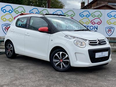 Citroen C1 Convertible 1.2 PureTech Feel Edition Sunrise Airscape 5dr