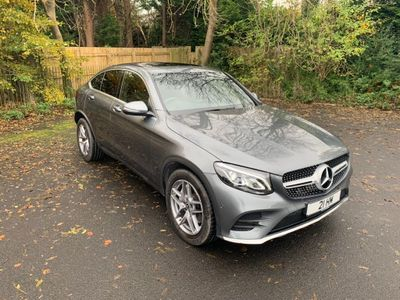 Mercedes-Benz GLC Class Coupe 3.0 GLC350d V6 AMG Line (Premium) G-Tronic 4MATIC (s/s) 5dr