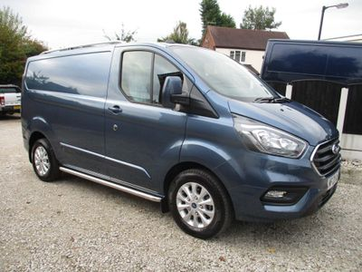 Ford Transit Custom Panel Van 2.0 300 EcoBlue Limited L1 H1 EU6 (s/s) 5dr