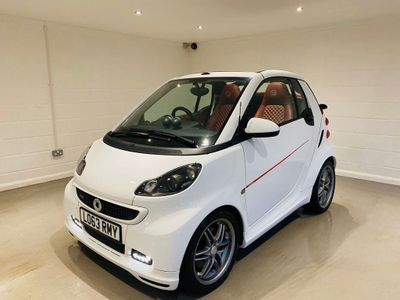 Smart fortwo Convertible 1.0 Turbo BRABUS Xclusive Cabriolet Softouch 2dr