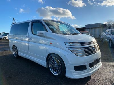 Nissan Elgrand MPV V70TH EDITION