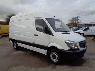 Mercedes-Benz Sprinter Panel Van 2.1 CDI 316 High Roof Panel Van 5dr (EU6, MWB)