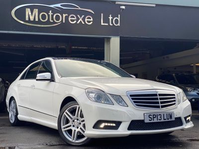 Mercedes-Benz E Class Saloon 1.8 E200 BlueEFFICIENCY Sport 7G-Tronic Plus (s/s) 4dr