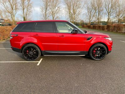 Land Rover Range Rover Sport SUV 5.0 V8 Autobiography Dynamic 4X4 (s/s) 5dr