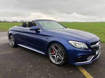 Mercedes-Benz C Class Convertible 4.0 C63 V8 BiTurbo AMG S (Premium) Cabriolet SpdS MCT (s/s) 2dr