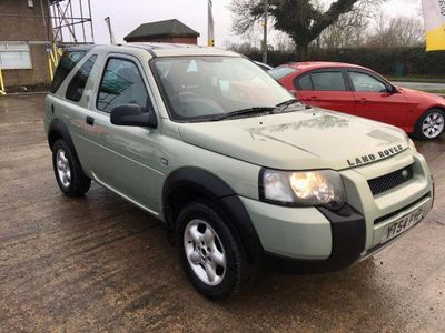 Land Rover Freelander Convertible 2.0 TD4 S Soft Top 3dr