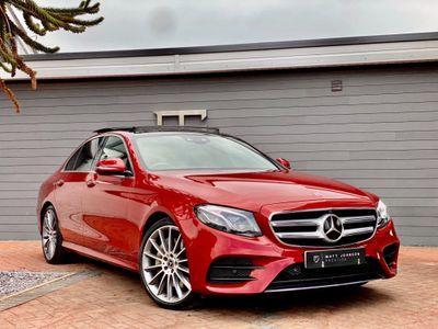 Mercedes-Benz E Class Saloon 2.0 E200 AMG Line (Premium Plus) G-Tronic+ (s/s) 4dr