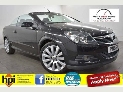 Vauxhall Astra Convertible 1.8 i 16v Design Twin Top 2dr