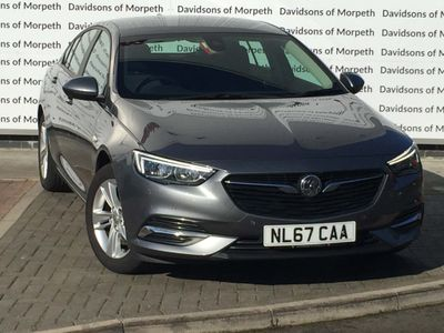 Vauxhall Insignia Hatchback 1.5i Turbo Design Grand Sport (s/s) 5dr