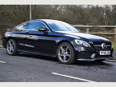 Mercedes-Benz C Class Coupe 2.1 C220d AMG Line G-Tronic+ (s/s) 2dr