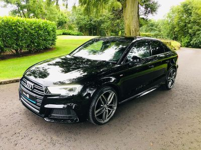 Audi A3 Saloon 1.6 TDI Black Edition (s/s) 4dr