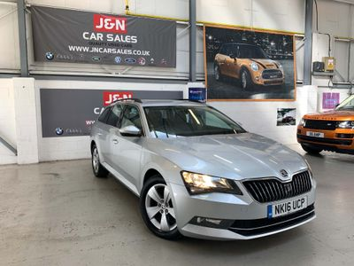SKODA Superb Estate 2.0 TDI SE 4WD (s/s) 5dr
