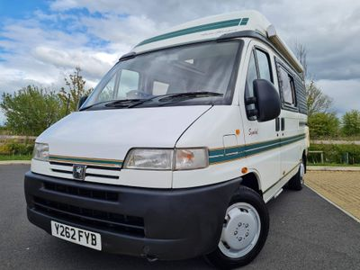 Auto-Sleepers Sorry now sold Campervan Peugeot boxer 1.9td