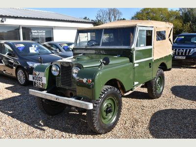 Land Rover Series I Convertible