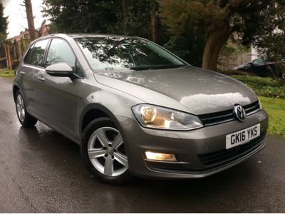 Volkswagen Golf Hatchback 1.6 TDI BlueMotion Tech Match Edition DSG (s/s) 5dr