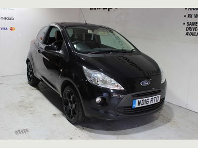 Ford Ka Hatchback 1.2 Zetec Black Edition (s/s) 3dr