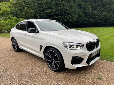 BMW X4 M SUV 3.0i Competition Auto xDrive (s/s) 5dr