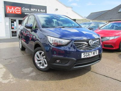 Vauxhall Crossland X SUV 1.6 Turbo D ecoTEC BlueInjection SE (s/s) 5dr