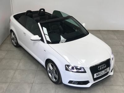 Audi A3 Cabriolet Convertible 2.0 TDI S line Final Edition Cabriolet 2dr Diesel Manual (119 g/km, 138 bhp)