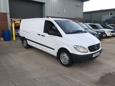 Mercedes-Benz Vito Panel Van 2.1 115CDI Extra Long Panel Van 5dr