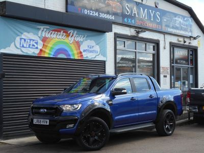 Ford Ranger Pickup 3.2 TDCi Wildtrak X Double Cab Pickup Auto 4WD (s/s) 4dr