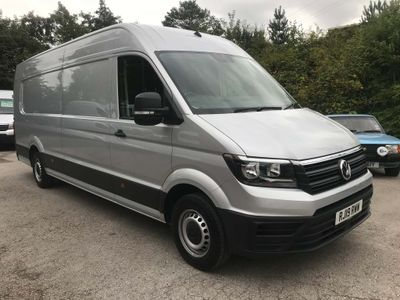 Volkswagen Crafter Panel Van 2.0 TDI CR35 BlueMotion Tech Startline Maxi Panel Van FWD LWB Extra High Roof EU6 (s/s) 5dr
