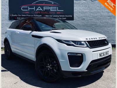 Land Rover Range Rover Evoque Coupe 2.0 TD4 HSE Dynamic Auto 4WD (s/s) 3dr